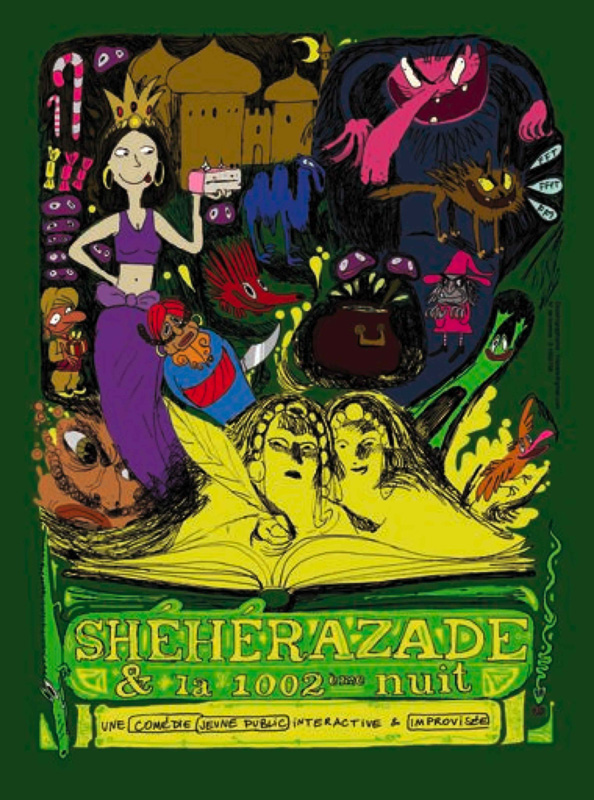Spectacle-Theatre-Impro-Sheherazade